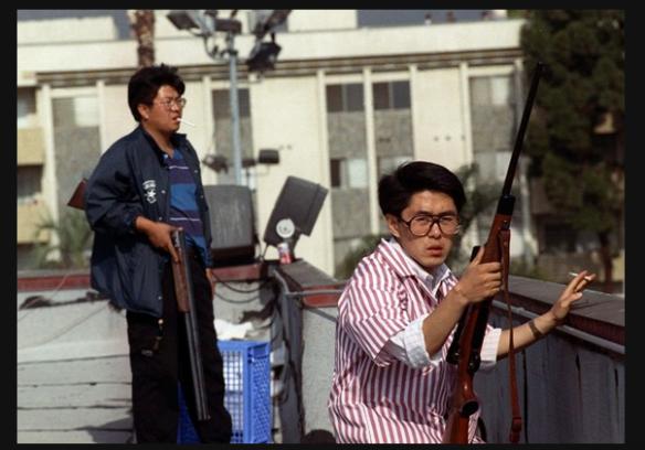 koreans w:guns