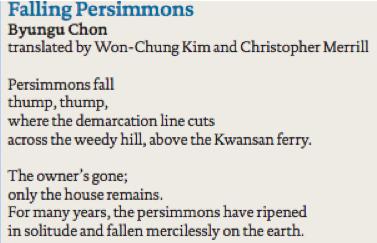 persimmon snip