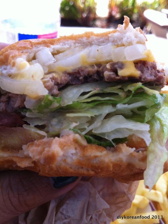 Cheeburger, cheeburger @ In & Out Burger, Los Angeles, CA
