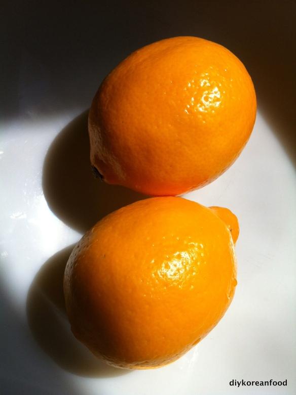 Meyer lemons make me happy!
