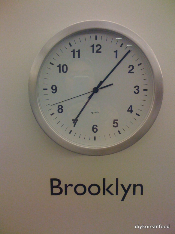 You're on Brooklyn Time