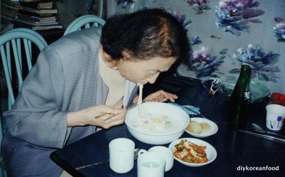 Mom & noodles