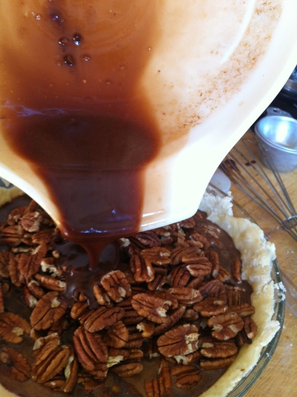 Not to mention the chocolate pecan pie