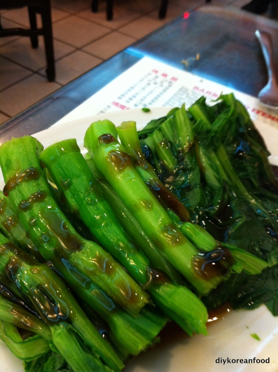 Chinese broccoli: The missing link