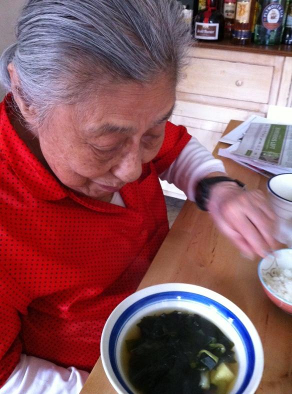Memory soup: seaweed soup