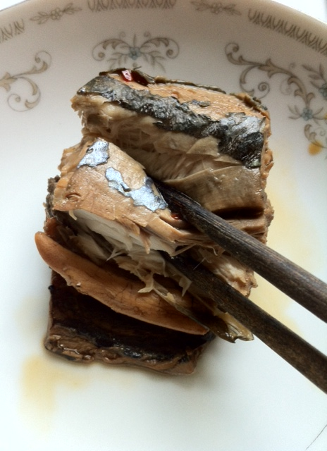 Savory mackerel