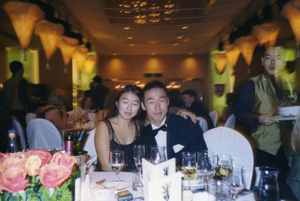 At the St. Andrews Ball, Seoul, Korea
