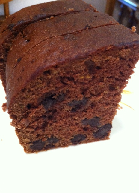 Karen's zucchini chocolate bread