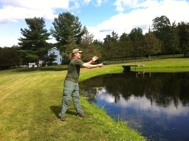 This is the way to cast your line